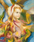 Fine Art - Painting, American:Contemporary   (1950 to present)  , Francisco Masseria (Argentinean, b. 1926). Emma. Oil oncanvas. 24 x 19-3/4 inches (61.0 x 50.2 cm). Titled and signed o...