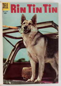 Rin Tin Tin #4-27 Bound Volumes (Dell, 1954-58).... (Total: 2 Items)