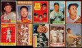 Baseball Cards:Lots, 1953-75 Bowman & Topps Mickey Mantle Collection (19)....