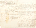 Political:Small Paper (pre-1896), [Abraham Lincoln]: Period Copy of September 4, 1864 Letter to ElizaGurney....