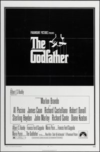 "The Godfather (Paramount, 1972). One Sheet (27"" X 41""). Crime"