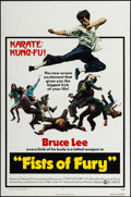 "Movie Posters:Action, The Big Boss (National General, 1972). One Sheet (27"" X 41"") U.S.Title: Fists of Fury. Action.. ..."