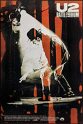 "Movie Posters:Rock and Roll, U2: Rattle and Hum (Paramount, 1988). One Sheet (27"" X 41""). Rock and Roll.. ..."