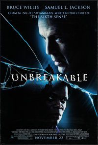 "Unbreakable & Others Lot (Buena Vista, 2000). One Sheets (2) (27"" X 39.75"") DS Advance. Drama. ... (Total:..."
