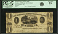 Obsoletes By State:Ohio, Kirtland, OH- Kirtland Safety Society Bank $1 Mar. 9, 1837 G2 Wolka1424-02 Rust 4. ...