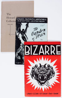 Robert E. Howard Related Fanzines Group of 21 (Various Publishers, 1941-2007) Condition: Average FN/VF.... (Total: 21 It...