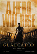 "Movie Posters:Action, Gladiator (Universal, 2000). One Sheet (27"" X 40"") DS Advance.Action.. ..."