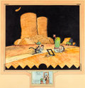 Original Comic Art:Illustrations, George Herriman Krazy Kat Specialty Illustrations Original Art (c. 1933)....
