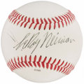 Autographs:Baseballs, LeRoy Neiman Single Signed Baseball....