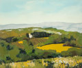 Fine Art - Painting, European:Contemporary   (1950 to present)  , Attributed to Jean-Louis Pepin (French, b. 1943). La CampagneAixoise. Oil on canvas. 23-3/4 x 28-1/2 inches (60.3 x 72....