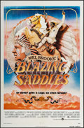 "Movie Posters:Comedy, Blazing Saddles (Warner Brothers, 1974). One Sheet (27"" X 41"").Comedy.. ..."