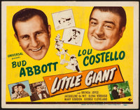 """Little Giant (Universal, 1946). Title Lobby Card (11"""" X 14""""). Comedy"""