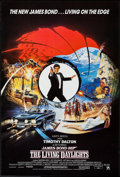 "Movie Posters:James Bond, The Living Daylights (United Artists, 1987). International One Sheet (26.75"" X 39.75""). James Bond.. ..."