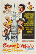 """Movie Posters:Comedy, Sergeant Deadhead & Others Lot (American International, 1965). One Sheets (6) (27"""" X 41""""), Half Sheets (22"""" X 28""""), & Photos... (Total: 10 Items)"""
