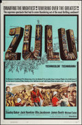 "Zulu (Embassy, 1964). One Sheet (27"" X 41""). War"