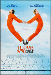 "I Love You Phillip Morris (LD Entertainment, 2009). One Sheets (15) (Identical) (27"" X 40"") SS. Comedy. ... (T..."