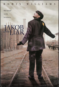 """Jakob the Liar (Sony, 1999). One Sheets (48) (Identical) (26.75"""" X 39.75"""") DS. Drama. ... (Total: 48 Items)"""