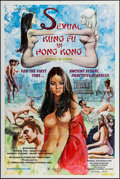 """Movie Posters:Adult, Sexual Kung Fu in Hong Kong (Hollywood International Film Corp., 1974). One Sheet (28"""" X 42""""). Adult.. ..."""