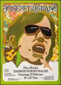 "Movie Posters:Rock and Roll, Jose Feliciano at Jahrhunderthalle (Mama Concerts, 1972). GermanConcert Poster (23.5"" X 32.75""). Rock and Roll.. ..."
