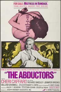 """The Abductors & Others Lot (Joseph Brenner Associates, 1972). One Sheets (3) (27"""" X 41""""). Sexploitatio..."""