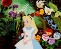 Animation Art:Poster, Alice in Wonderland Dye Transfer Print (Walt Disney, 1951)....