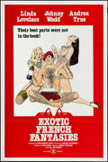 """Movie Posters:Adult, Exotic French Fantasies & Others Lot (1974). One Sheets (3) (27"""" X 41"""", 26.75"""" X 41.5""""). Adult.. ... (Total: 3 Items)"""