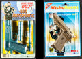 "Movie Posters:James Bond, James Bond .380 Automatic Toy Pistol (Imperial Toys, 1984).Unopened Toy Guns in Original Packaging (2) (6"" X 10"", 6.25"" X 9...(Total: 2 Items)"