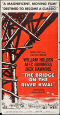 "Movie Posters:War, The Bridge on the River Kwai (Columbia, 1958). Three Sheet (41"" X77.5""). War.. ..."