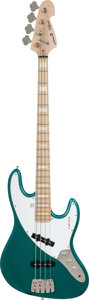 Musical Instruments:Bass Guitars, Circa 2010 Sandberg California Green Electric Bass Guitar, Serial # 12448, Weight: 9.4 lbs....