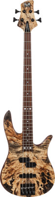 2000's Fodera Monarch Natural Electric Bass Guitar