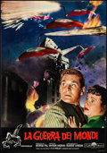 """Movie Posters:Science Fiction, The War of the Worlds (Paramount, R-1960s). Italian Photobusta (18.5"""" X 26.75""""). Science Fiction.. ..."""