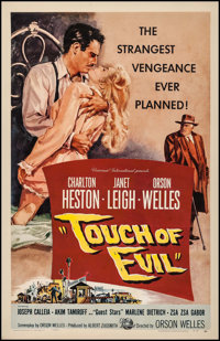 "Touch of Evil (Universal International, 1958). One Sheet (27"" X 41""). Film Noir"