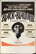 "Movie Posters:Blaxploitation, Black is Beautiful (Documento Films, 1974). One Sheet (28"" X 42"").Blaxploitation.. ..."
