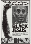 "Movie Posters:Blaxploitation, Black Jesus (Sig Shore International, 1968). One Sheet (27"" X 38"").Blaxploitation.. ..."