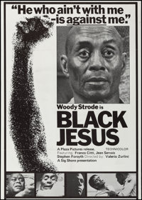 "Black Jesus (Sig Shore International, 1968). One Sheet (27"" X 38""). Blaxploitation"