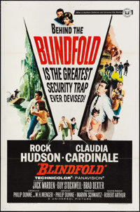 """Blindfold & Others Lot (Universal, 1966). One Sheets (3) (27"""" X 41""""). Thriller. ... (Total: 3 Items)"""