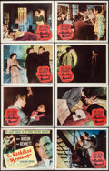 """Movie Posters:Film Noir, The Reckless Moment (Columbia, 1949). Lobby Card Set of 8 (11"""" X 14""""). Film Noir.. ... (Total: 8 Items)"""