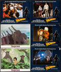 """Movie Posters:Animation, The Jungle Book & Other Lot (Buena Vista, 1967). Lobby Cards(2) & British Lobby Cards (4) (11"""" X 14""""). Animation.. ...(Total: 6 Items)"""