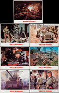 "Movie Posters:War, Kelly's Heroes (MGM, 1970). Lobby Cards (7) (11"" X 14""). War.. ... (Total: 7 Items)"
