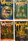 Pulps:Horror, Weird Tales Group of 8 (Popular Fiction, 1939-46) Condition:Average FR/GD.... (Total: 8 Items)