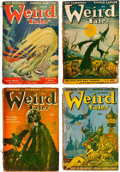 Pulps:Horror, Weird Tales Group of 10 (Popular Fiction, 1947-49) Condition:Average GD.... (Total: 10 Items)