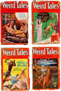 Pulps:Horror, Weird Tales Group of 6 (Popular Fiction, 1930) Condition: Average FR.... (Total: 6 Comic Books)
