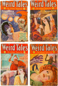 Pulps:Horror, Weird Tales Group of 5 (Popular Fiction, 1932) Condition: AverageFR.... (Total: 5 Items)