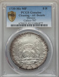 Mexico, Mexico: Philip V 8 Reales 1739/6 Mo-MF AU Details (Cleaning)PCGS,...