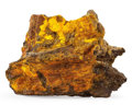 Minerals:Cabinet Specimens, Zippeite. Happy Jack Mine. Utah, USA. 5.09 x 3.52 x 0.96 inches(12.94 x 8.93 x 2.43 cm). ...