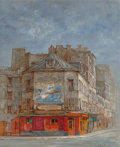 Fine Art - Painting, European:Contemporary   (1950 to present)  , Jean Keime (French, b. 1932). Rue de Vanguard. Oil oncanvas. 16 x 13 inches (40.6 x 33.0 cm). Signed lower right:Jea...