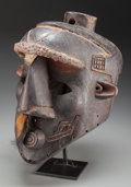 Tribal Art, BINJI, Democratic Republic of Congo. Helmet Mask...