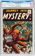 Silver Age (1956-1969):Horror, Journey Into Mystery #64 (Marvel, 1961) CGC VF- 7.5 Off-white towhite pages....