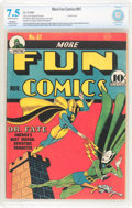 Golden Age (1938-1955):Superhero, More Fun Comics #61 (DC, 1940) CBCS Restored VF- 7.5 Moderate to Extensive (P) Off-white to white pages....