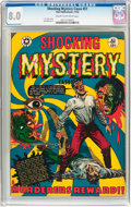 Golden Age (1938-1955):Horror, Shocking Mystery Cases #51 (Star Publications, 1952) CGC VF 8.0Cream to off-white pages....